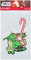 Disney Star Wars Yoda Christmas Holiday Gel Cling