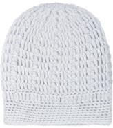 Madeleine Thompson Maddy Cable-knit Cashmere Beanie - Blue