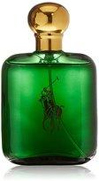 Ralph Lauren Polo by for Men, Eau de Toilette Natural Spray, 4-Fluid Ounce