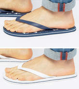 Asos Flip Flops 2 Pack In Navy And White SAVE