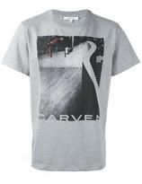 Carven skater print T-shirt