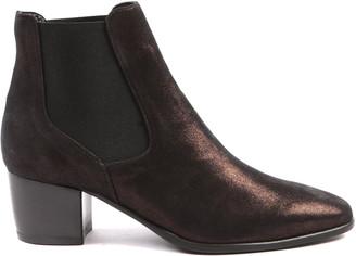 Peponita - Mortlake Metallic Bronze Chelsea Boots - EU41 (UK8)