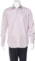 Robert Graham Jeffeory Striped Shirt w/ Tags