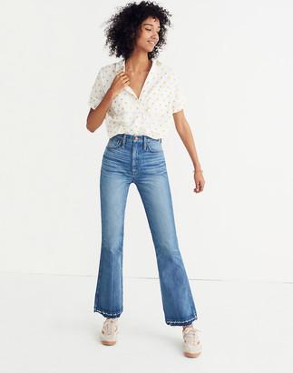 Madewell Tall Rigid Flare Jeans: Drop-Hem Edition