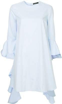 Ellery long frill cuff dress