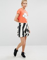 Cheap Monday Guru Stripe Skirt