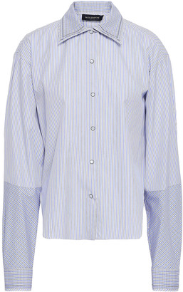 Piazza Sempione Striped Cotton-poplin Shirt