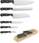 Wusthof Gourmet 7-Slot Organizer with Knife Set