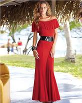 Romantic ankle-length dress