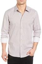 7 Diamonds Men's Perpetual Groove Slim Fit Woven Shirt
