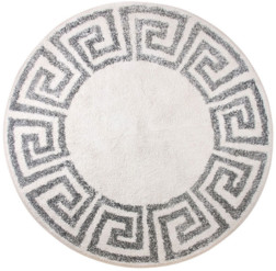 HKliving - Greek Key Bath Mat 80 cm