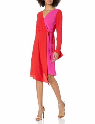Bailey 44 Women's Faux Silk Wrap Dress Durable and Breathable
