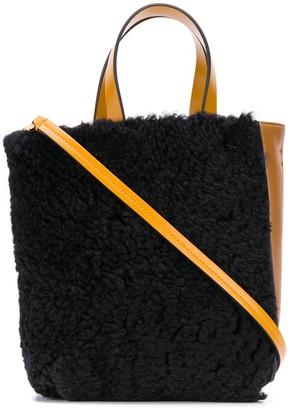 Marni mini Museo two-tone tote bag