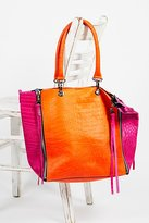 Bright Lights Leather Tote by Mandaat at Free People