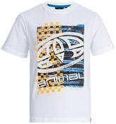 Animal Boys' Printed T-Shirt, White