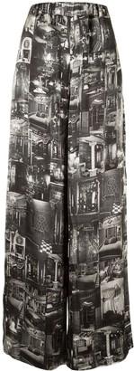 Y/Project Photograph-Print Palazzo Pants