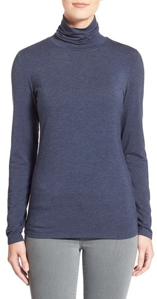 Nordstrom 'Ultimate' Stretch Modal Turtleneck Top