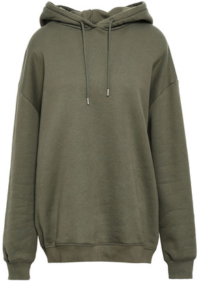 Ninety Percent Oversized French Cotton-terry Hoodie