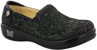 Alegria Leather Slip On Shoes - Keli Pro