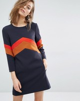 BA&SH Season Dress with Bold Stripe
