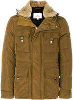 Peuterey padded fur-trim jacket