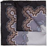 Eton Paisley Silk Pocket Square