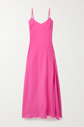 Miguelina Charlene Linen Maxi Dress
