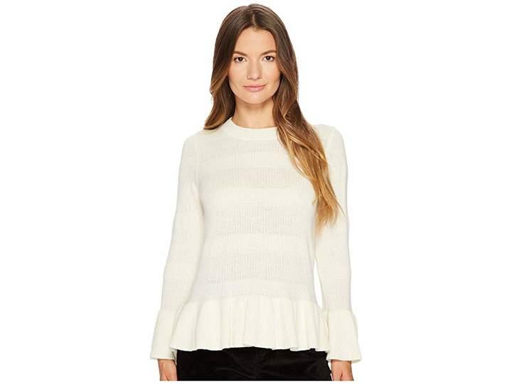 Kate Spade Textured Bell Sleeve Sweater Women's Sweater