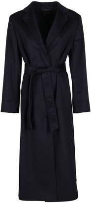 Agnona Belted Tailored Coat