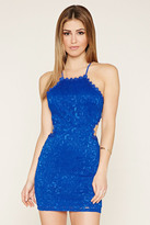 Forever 21 FOREVER 21+ Lace Mini Dress