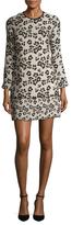 Shoshanna Silk Floral Print Mini Dress