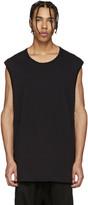 11 By Boris Bidjan Saberi Black and Blue Muscle T-shirt
