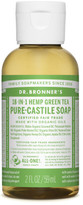 Dr. Bronner's Liquid Castile Soap 59ml - Green Tea