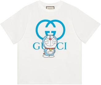 Gucci Doraemon x oversize T-shirt
