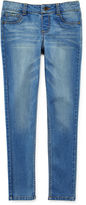 JCPenney Total Girl Medium Wash Jeggings - Girls 7-16 and Plus