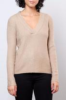 Jacqueline De Yong V Neck Pullover Top