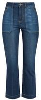 Rebecca Taylor Patchwork denim jeans