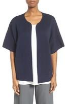 Eileen Fisher Women's Silk & Organic Cotton Cardigan