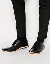 Base London Derby Shoes - Black