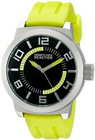 Kenneth Cole Reaction Unisex RK1434 Street Collection Analog Display Japanese Quartz Green Watch