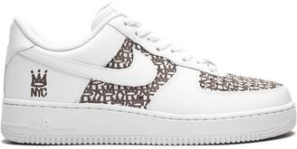 Nike x Haze Air Force 1 Laser sneakers