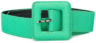 Yves Saint Laurent Pre Owned 1980's Square Buckle Belt
