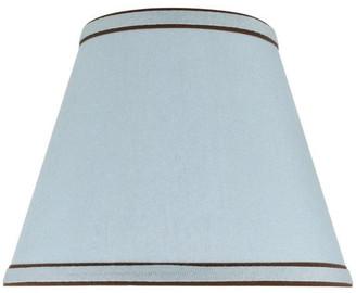 Aspen Creative 32040 Hardback Empire Spider Lamp Shade in Light Blue (