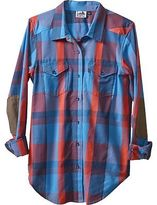 Kavu Billie Jean Shirt - Long-Sleeve - Women's Americana/Large Plaid XL