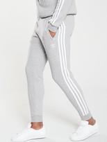 adidas 3 Stripe Pants - Medium Grey Heather
