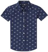 boohoo Boys Short Sleeve Rain Cloud Printed Shirt