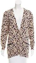 Marc by Marc Jacobs Knit Floral Print Cardigan