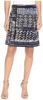 Nic+Zoe Blue Streak Skirt