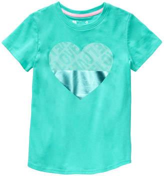 Xersion Girls Round Neck Short Sleeve Graphic T-Shirt - Big Kid