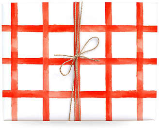 Lana's Shop Set of 3 Checkered Gift Wrap